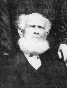 Black and white photograph of Elijah E. Richardson as an elderly gentleman